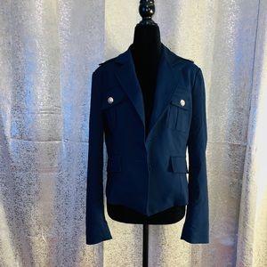 New York & Co 7th Avenue Navy Blue Blazer Size 12